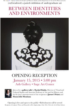 annual engendered exhibition: opening tomorrow at 5pm in asis gallery