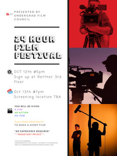 It's TIME! Enter the 24 HOUR Film Festival! October 12-13