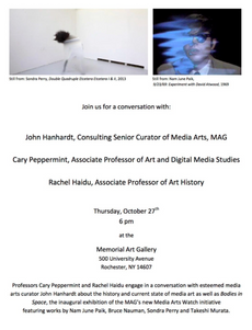 the history of media art and the memorial art gallery's media arts watch: a conversation between rac