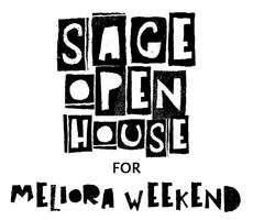 sage open house for meliora weekend: friday 10/17 from 3pm-5pm
