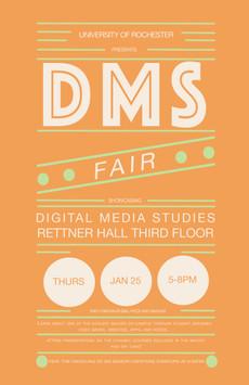 Digital Media Studies Fair at Rettner Hall