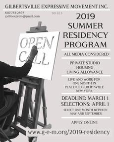 GEM Summer Residency Program DEADLINE Approaching!