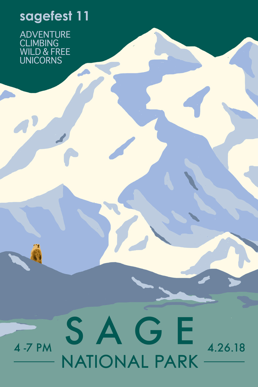 Sage National Park Poster 2