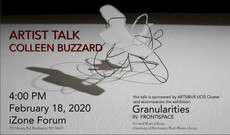 Talk 2/18: Artist Talk by Colleen Buzzard