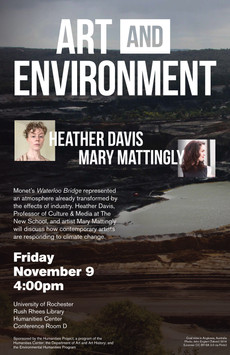 Art and Environment - This Friday @ the Humanities Center