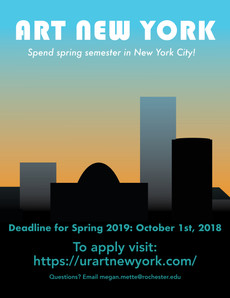 Art New York Program Deadline October 1, 2018