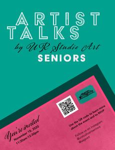 Artist Talks by UR Studio Art Seniors 11/18