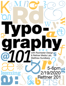 Workshop: Typography 101