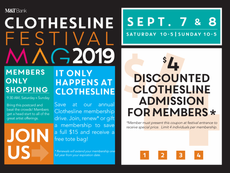 MAG Clothesline Festival 9/7 and 9/8