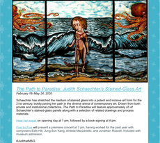 Talk 2/16: Judith Schaechter's Stained-Glass Art @ MAG