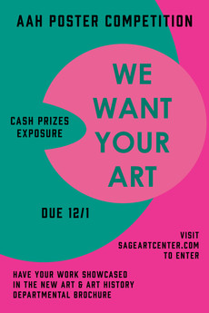 We Want Your Art!!! Due December 1st!