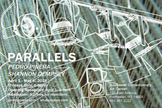parallels: pedro piñera & shannon dempsey opening friday @ roco