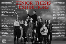 2017 senior thesis exhibitions