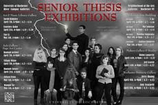 2017 senior thesis exhibitions