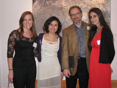 president's reception for studio art and theater