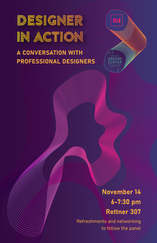 11/14: A Conversation with Professional Designers!