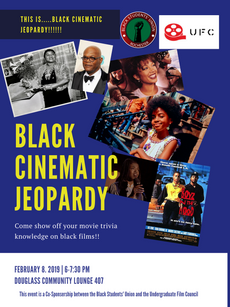 Black Cinematic Jeopardy!!!! Show off your movie trivia on 2/8!