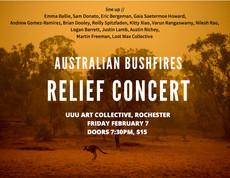 2/7: Australian Bushfires Relief Concert