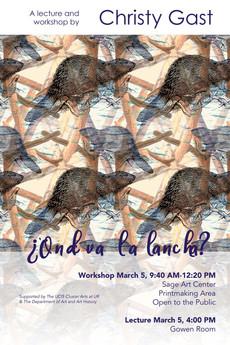 Workshop and Talk 3/5: Christy Gast