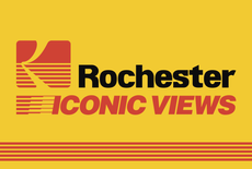 "opening reception friday 5-7pm in asis // ""rochester iconic views"" by david libbey"