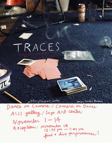 TRACES reception 11/14 in Sage Art Center