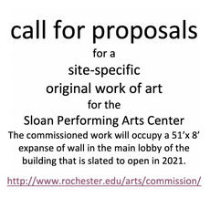 Call for art proposals