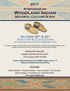 2017 symposium on woodland indian material culture & art