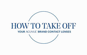 How To Take Off Contact Lenses
