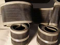 Industriall Belt with Edging - New Jersey Wire Cloth