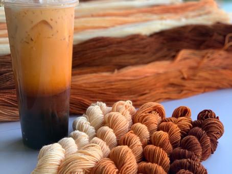Process: Thai Iced Tea Gradient Packs
