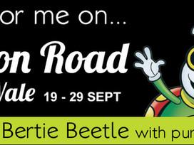 Bertie Beetle is coming to Union Road in September