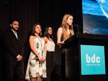 Cuatro estudiantes de Los Andes ganaron el Biodesign Challenge 2019 en Nueva York