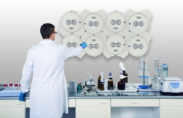 PseudoFridge can be placed at laboratories for the storage of medicines or biologics.