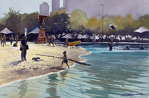 South bank lagoon - Brisbane