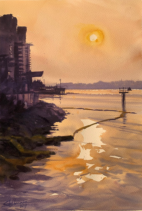 Morning calm - Brisbane River