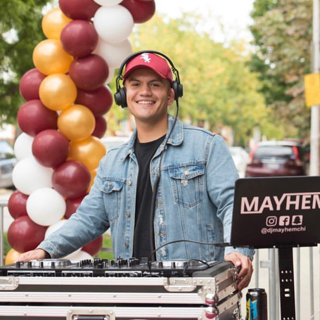 On Deck DJs Talent; DJ Mayhem