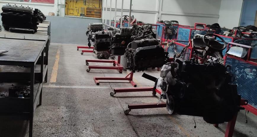 Motores para prácticas