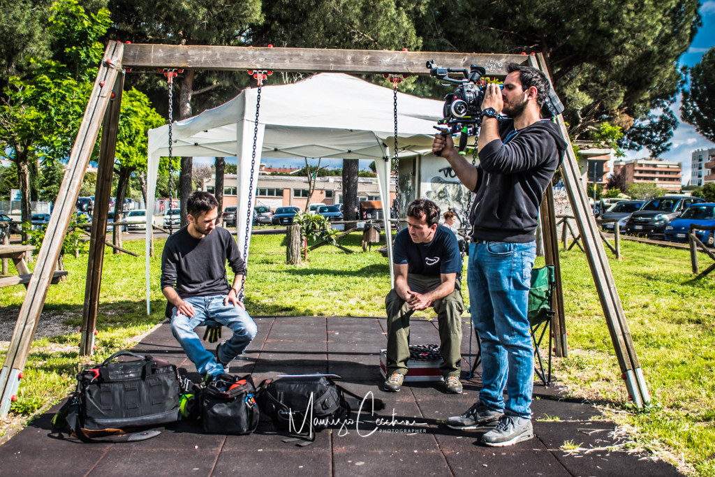 Movie Baby Backstage Movie Baby Gang Accademia del cinema Italiano nomination Premi Davide di Donatello