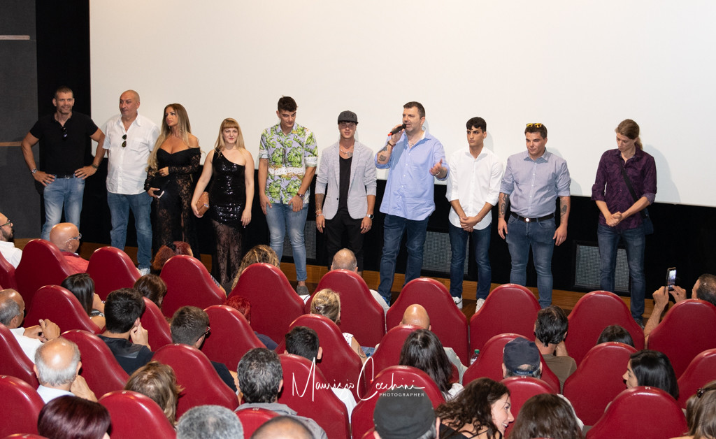 Red Carpet Movie Baby Gang Accademia del cinema Italiano nomination Premi Davide di Donatello
