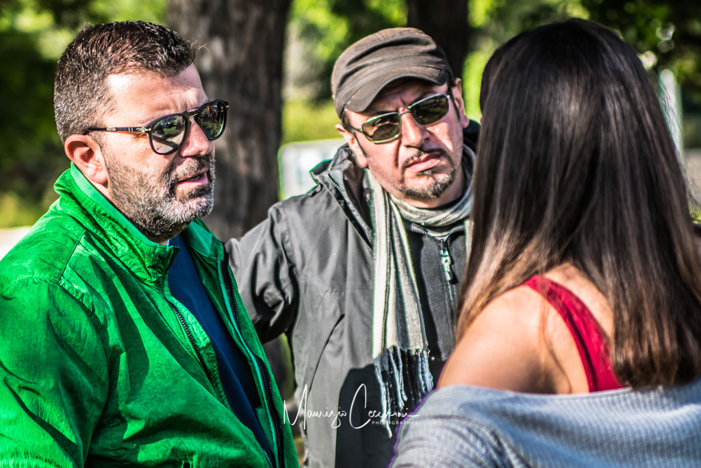 Backstage Movie Baby Gang Accademia del cinema Italiano nomination Premi Davide di Donatello