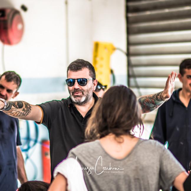 Movie Baby Backstage Movie Baby Gang Accademia del cinema Italiano nomination Premi Davide di Donatello