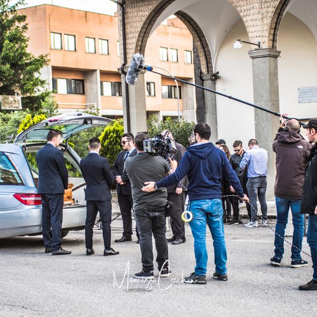 Backstage Movie Baby Gang Accademia del cinema Italiano nomination Premi Davide di Donatello