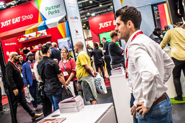 Just Eat Corporate Event streetfoodlive event by prysmgroup Company ExCel London Centre Events