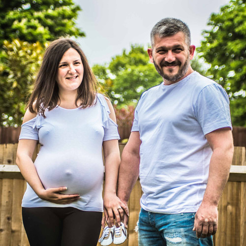 Pregnant Maternity Family Portraits London