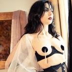 Burlesque Model Glamour Portrait