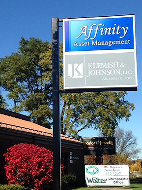 Klemish & Johnson law office entrance