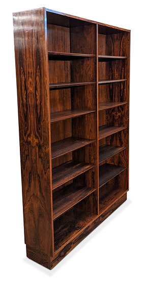 (SOLD) Hundevad Rosewood Bookcase - Hyby