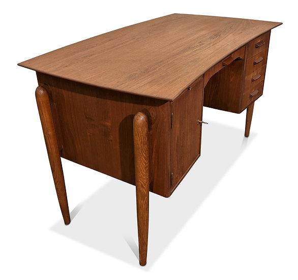 (SOLD) Teak Desk - Lighed