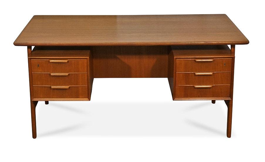 (SOLD) Teak Oman Jun Floating Desk