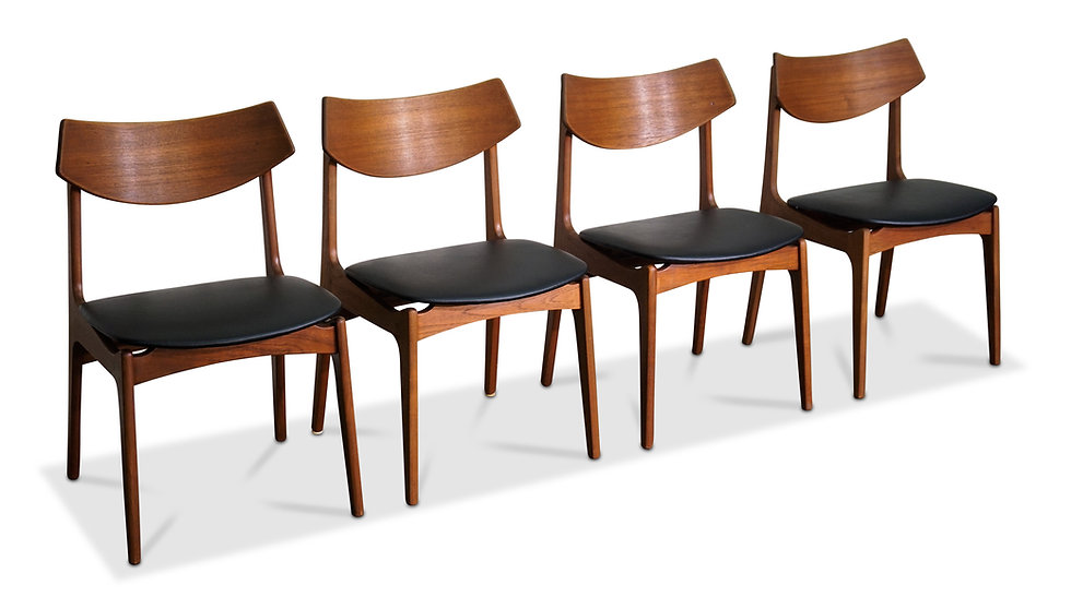 (SOLD) Set of 4 Funder-Smith & Madsen Chairs